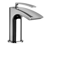 .LAVABO MONOTROU SMALL BOLLICINE CHROME