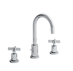 LAVABO CROSS ROAD 3 TROUS + Vidage CHROME