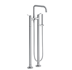MELANGEUR BAIN DOUCHE SUR PIED EAST SIDE CHROME