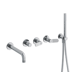 BAIN/DOUCHE EAST SIDE ENCASTRE 2 SORTIES CHROME