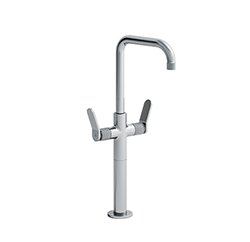 MELANGEUR LAVABO EAST SIDE TALL AVEC VIDAGE CHROME
