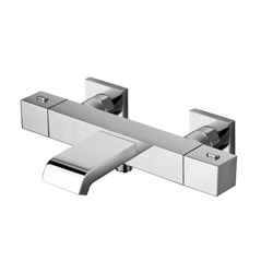 BAIN DOUCHE QUADRI THERMOSTATIQUE CORPS FROID CHROME