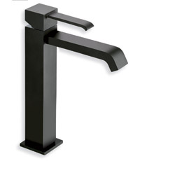 LAVABO QUADRI MI-HAUT NOIR VIDAGE UP &DOWN