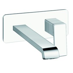 LAVABO MURAL QUADRI S PLAQUE SAILLIE 22.5 CM CHROME