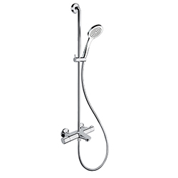 .THETA COMBINE BAIN DOUCHE THERMOSTATIQUE CHROME