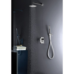 .PACK ENCASTRE DOUCHE MITIGEUR NEW DAY CHROME